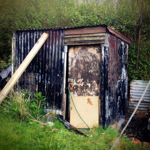 """""""Garden Shed"""" stock image"""