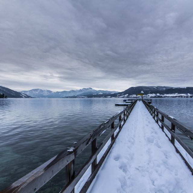 """Cold Lake"" stock image"