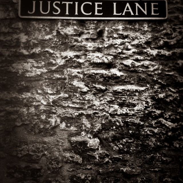 """Justice Lane"" stock image"