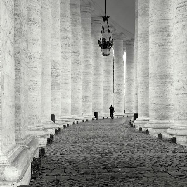 """Columns of Faith"" stock image"