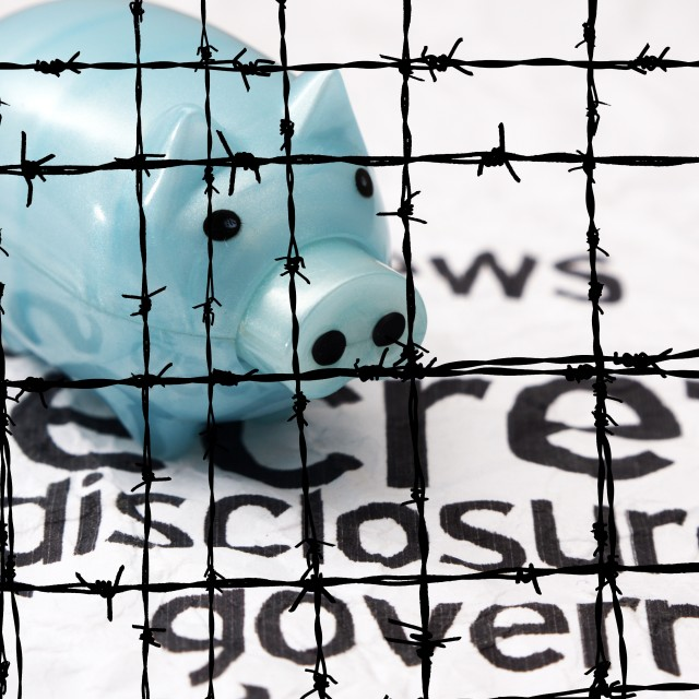 """Secret disclosure government"" stock image"
