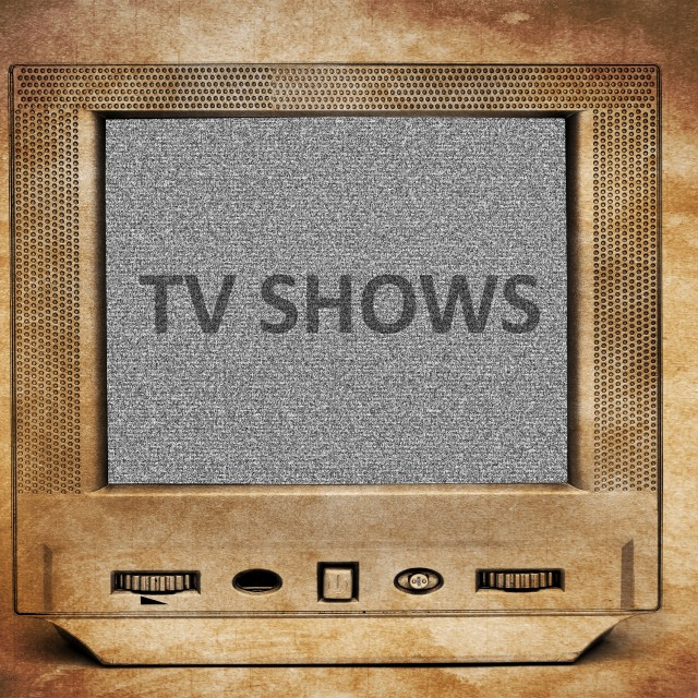 """TV show"" stock image"