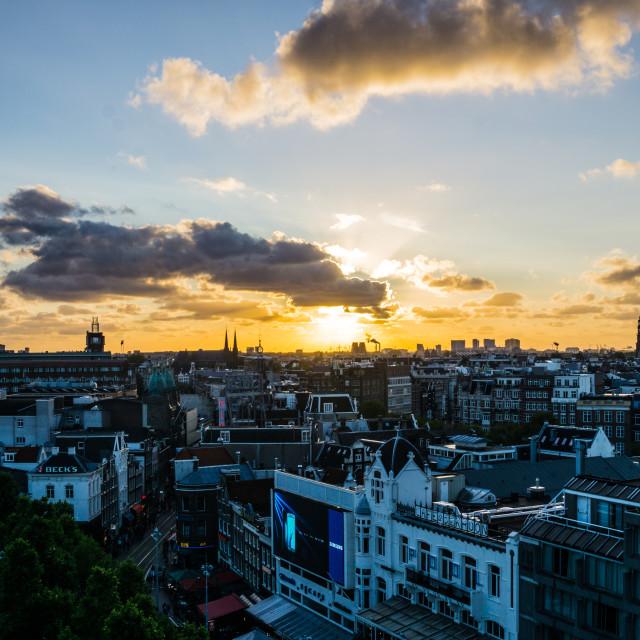 """Amsterdam Skyline"" stock image"