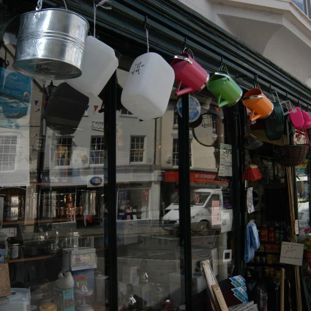"""Harware Store England"" stock image"