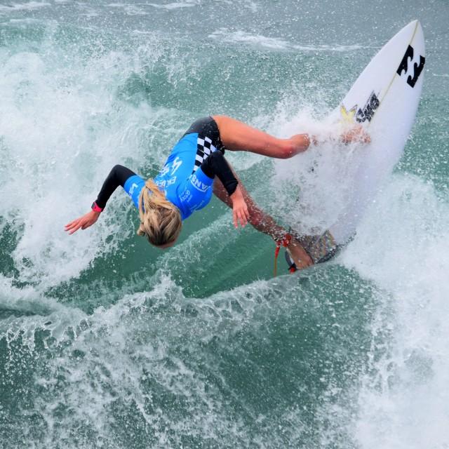 """Pro Surfer"" stock image"