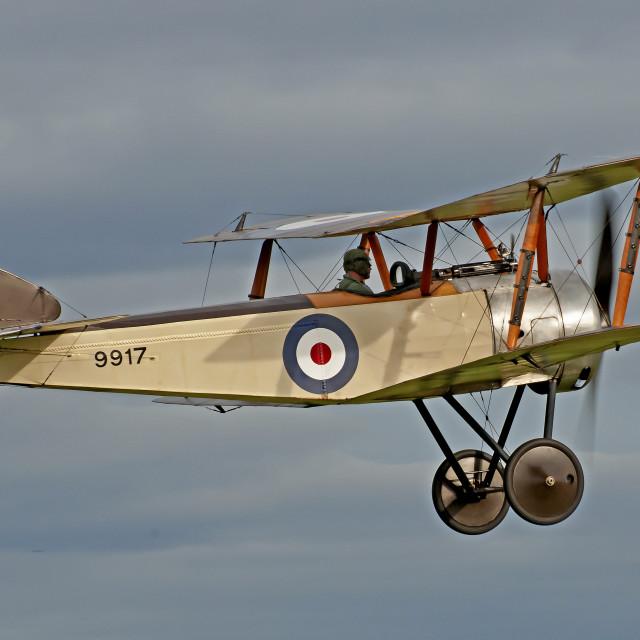 """Sopwith Pup Vintage Biplane"" stock image"