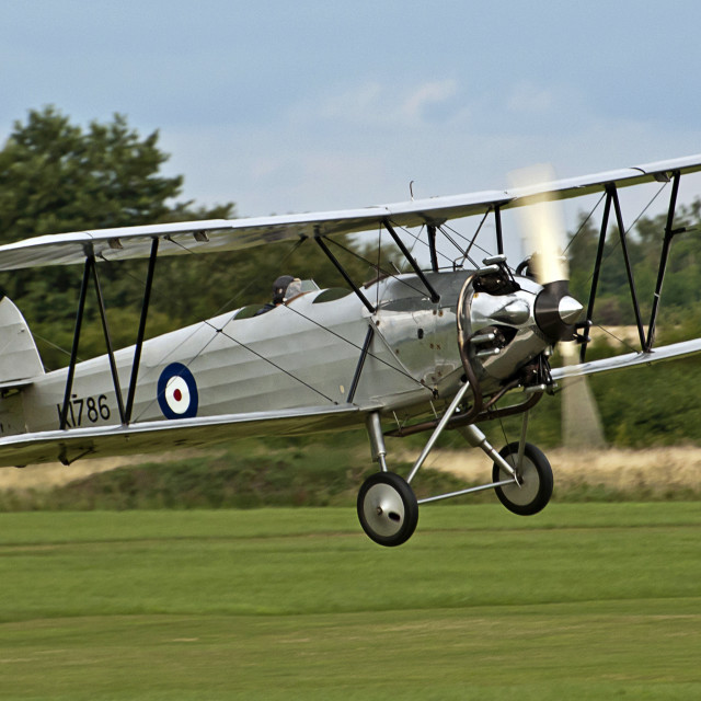 """Hawker Tomtit 1930"" stock image"