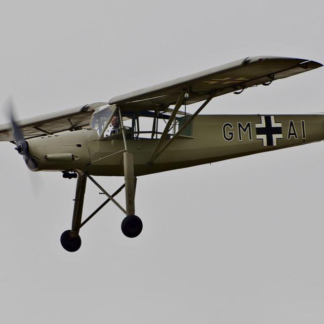 """Fieseler Storch Fi 156"" stock image"