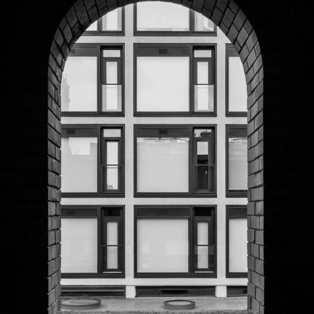 """Window onto windows"" stock image"
