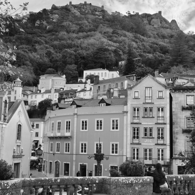 """""""Sintra view"""" stock image"""