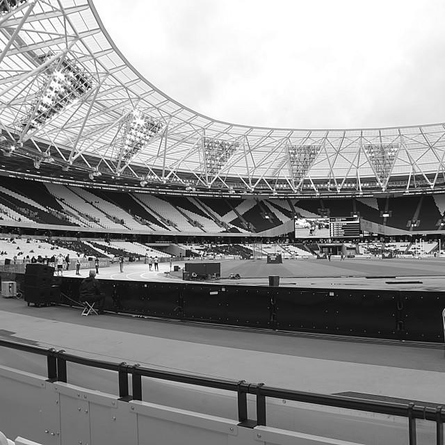 """Olympic Stadium, Stratford."" stock image"