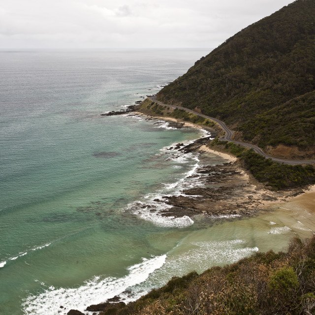 """""""Great Ocean Road"""" stock image"""