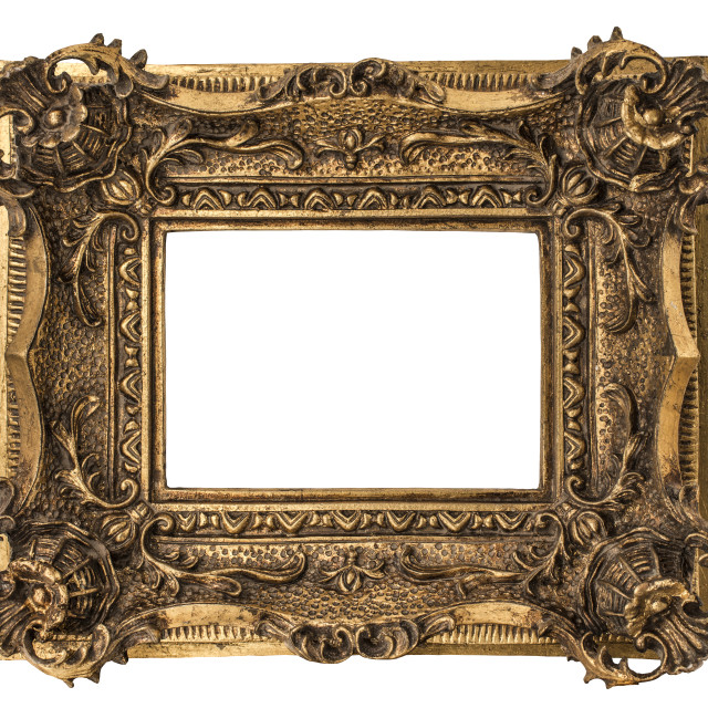 """Small Georgian Frame"" stock image"