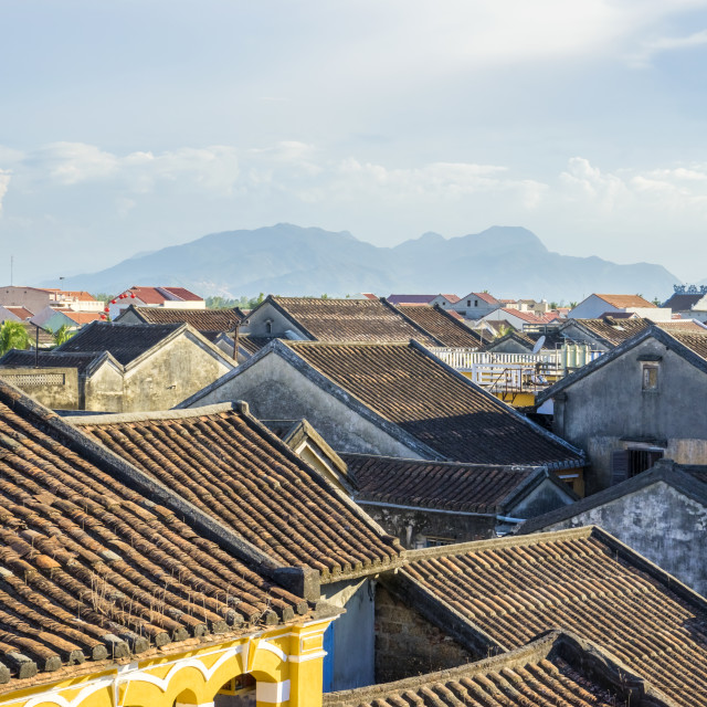 """Roof of Ancient House"" stock image"