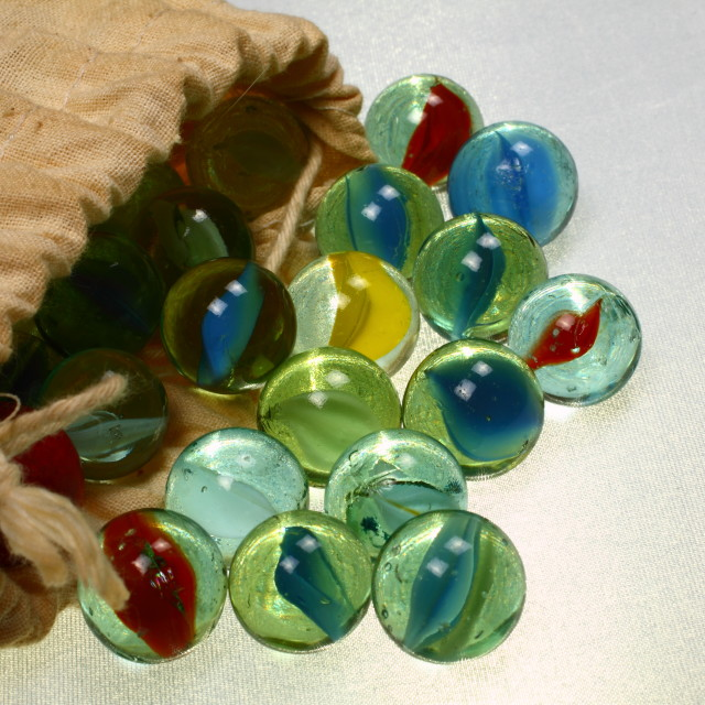 """""""Glass marbles"""" stock image"""