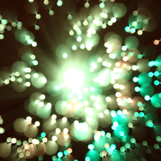 """Fibre optic light"" stock image"