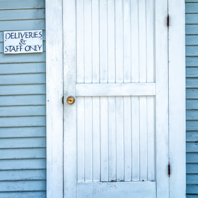"""""""Dirty Door"""" stock image"""