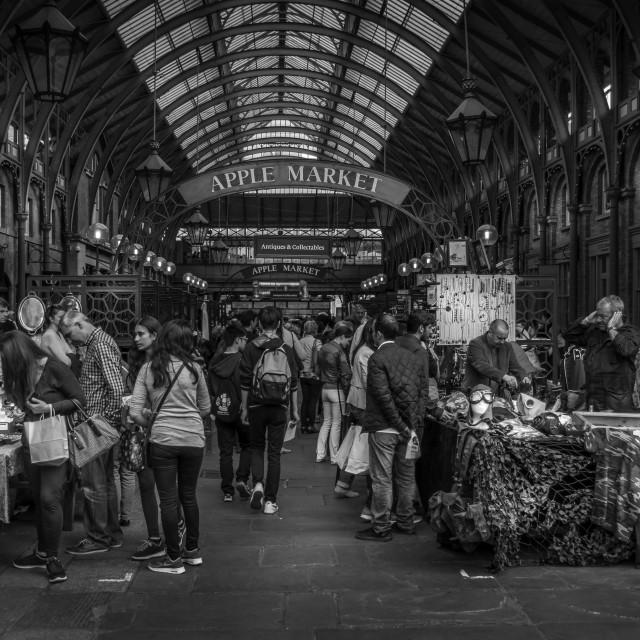 """Covent Garden market"" stock image"
