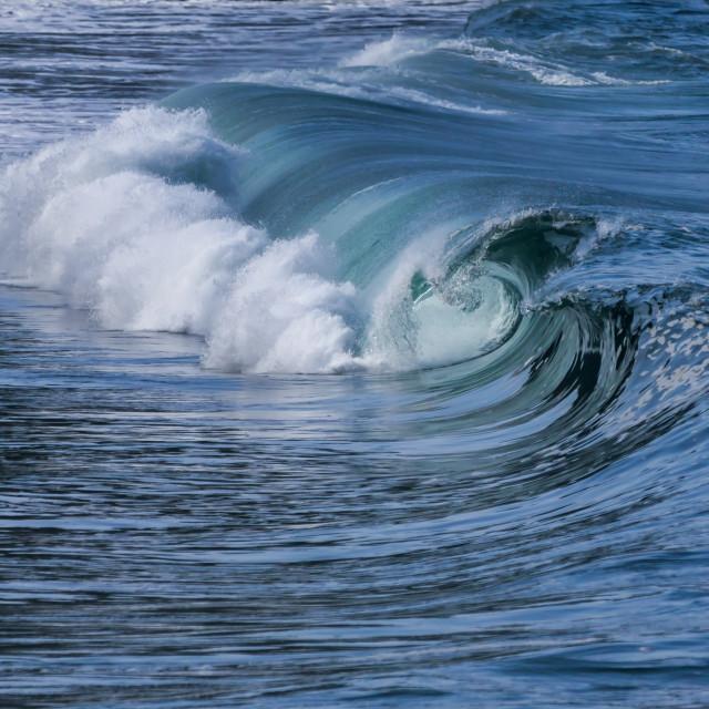 """Waimea Bay Hawaii"" stock image"