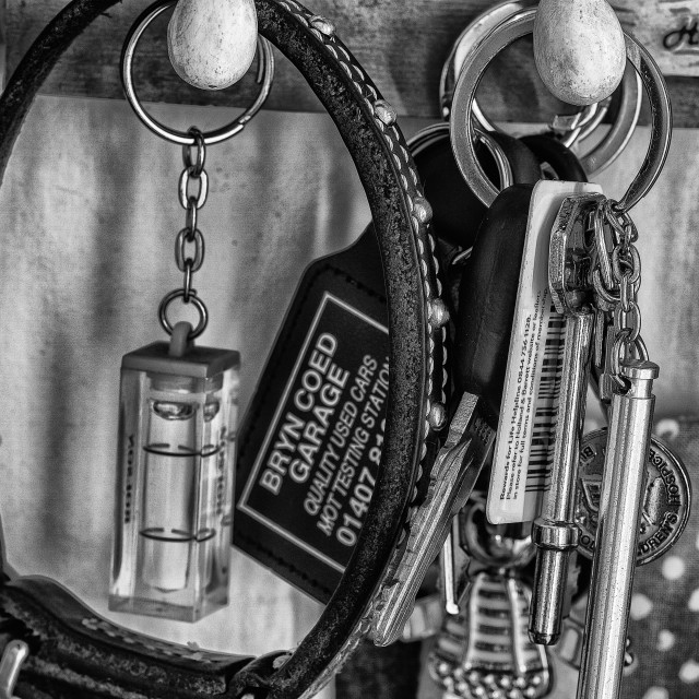 """key ring."" stock image"