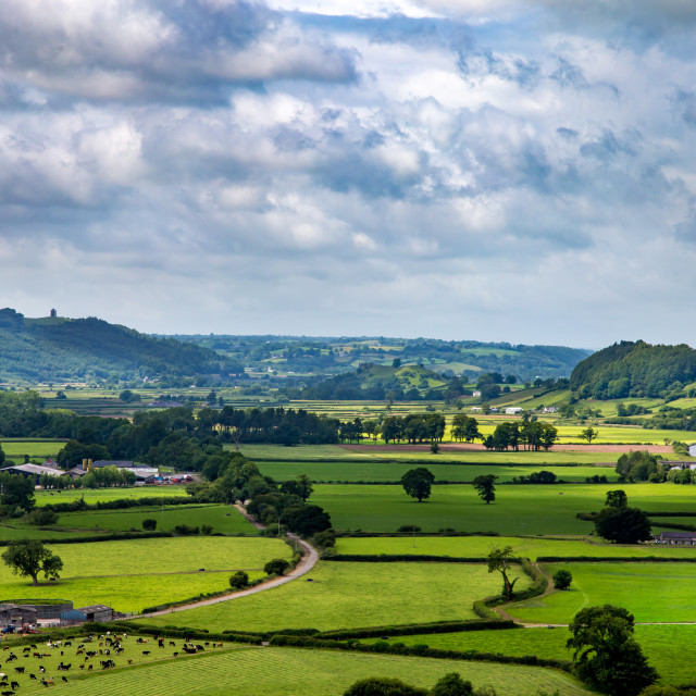 """Towy valley"" stock image"