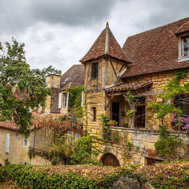 """House in Sarlat"" stock image"