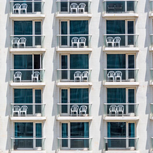 """""""Hotel in Tel Aviv, Israel"""" stock image"""