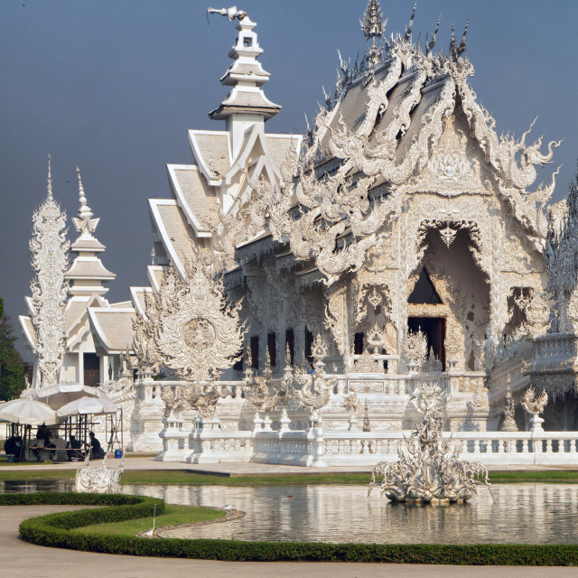 """The White Temple (Wat Rong Khun), Thailand"" stock image"