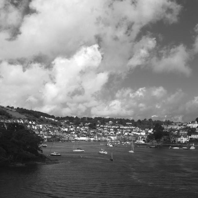 """Dartmouth Harbour"" stock image"