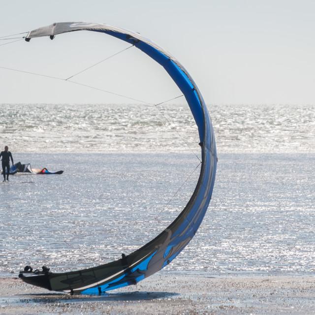 """kitesurfing canopy"" stock image"