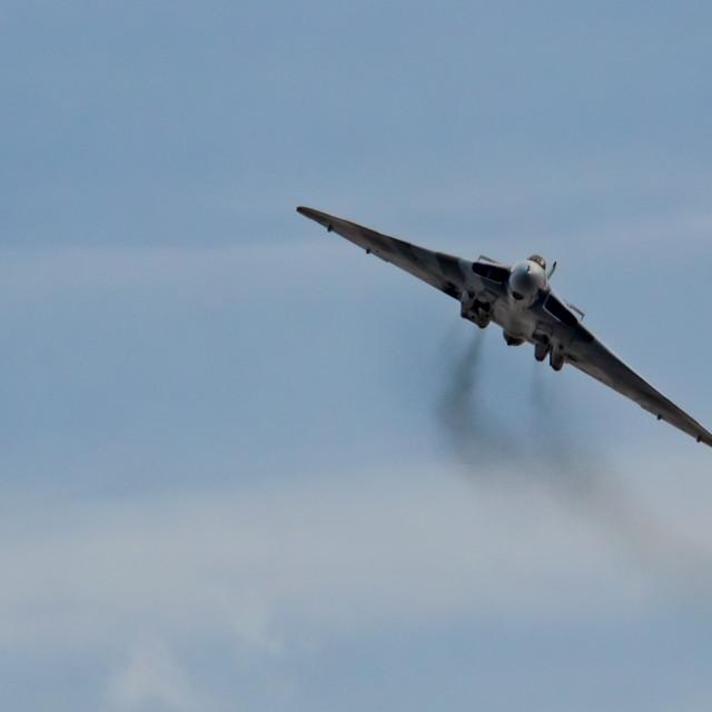 """Flight of the Vulcan"" stock image"
