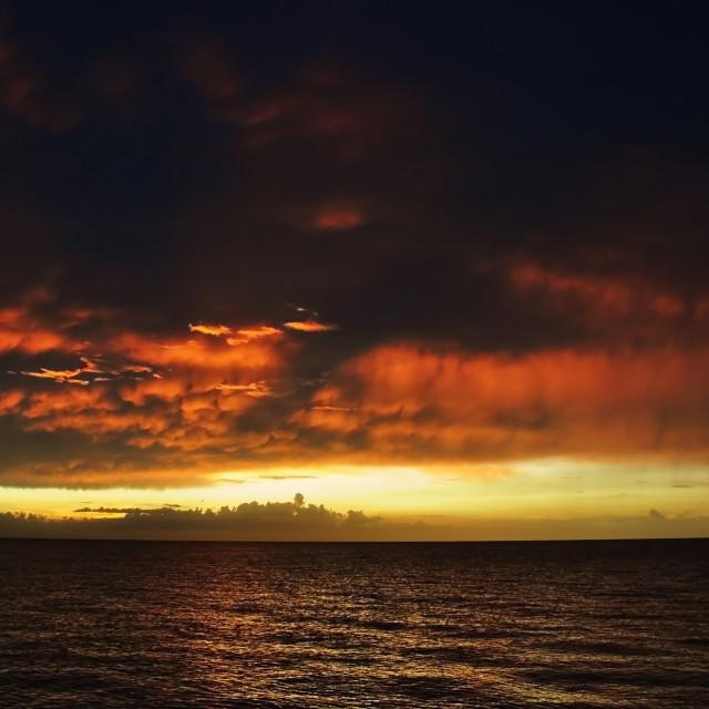 """FIERY. (Montego Bay, Jamaica)"" stock image"