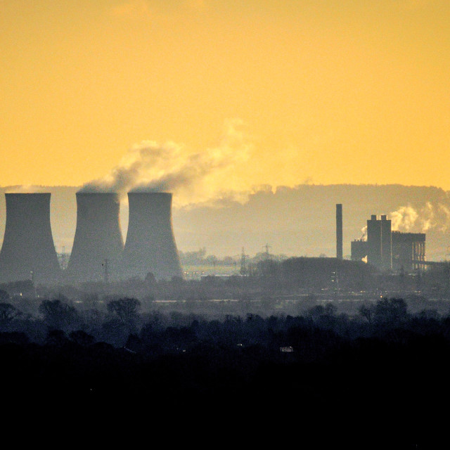 """Didcot Power station"" stock image"