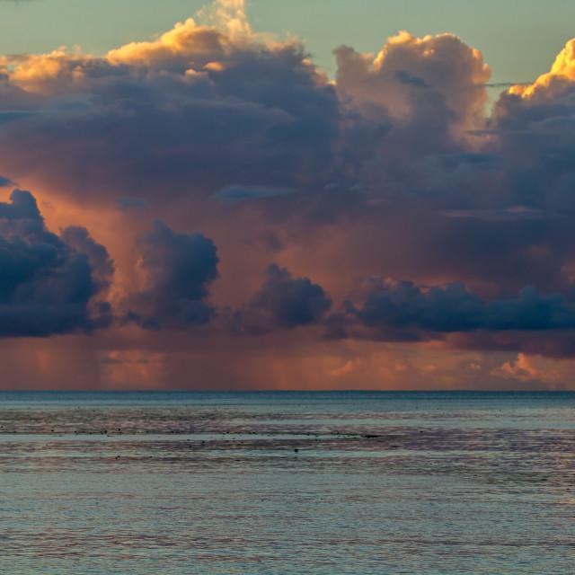 """Heavenly Sunset"" stock image"