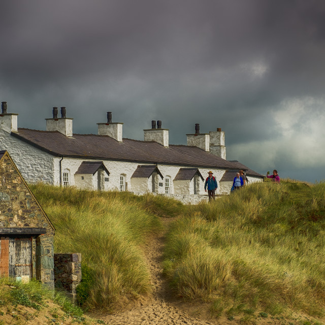 """""""Cottages."""" stock image"""