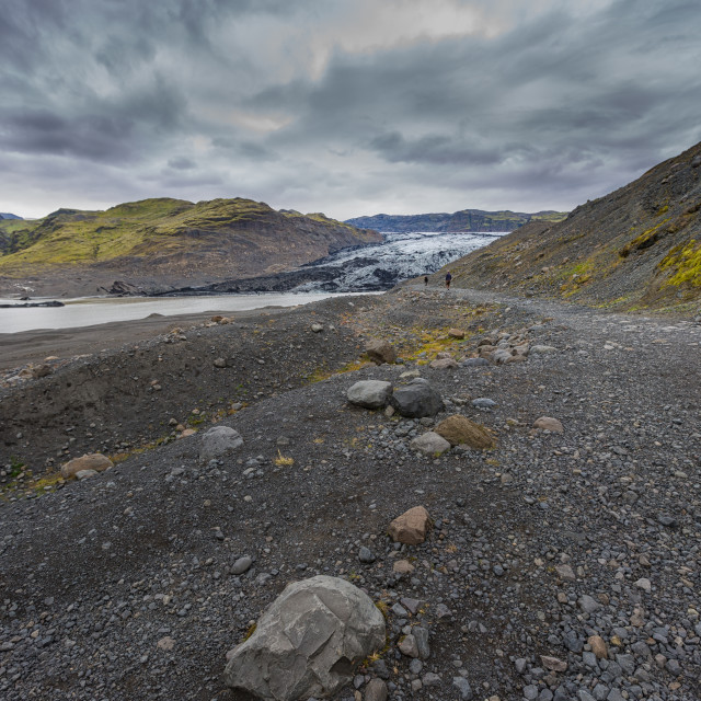 """rocky glacial landscape"" stock image"