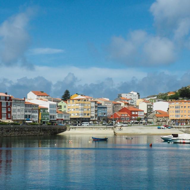 """Muxia, Galicia"" stock image"