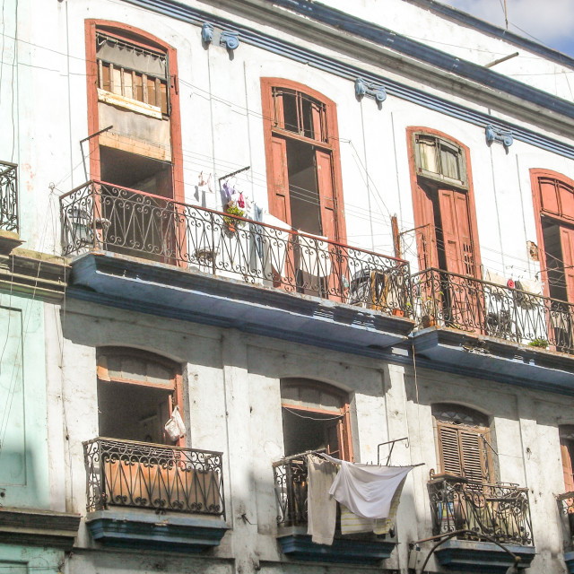 """Cuban Architecture"" stock image"