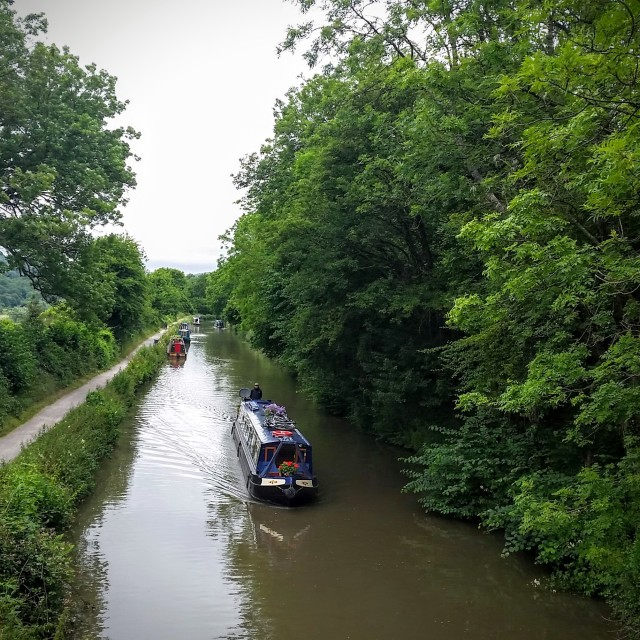 """Kennet & Avon Canal"" stock image"