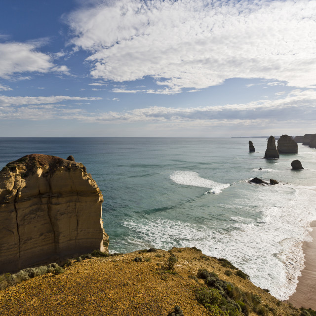 """Twelve Apostles Coastline"" stock image"