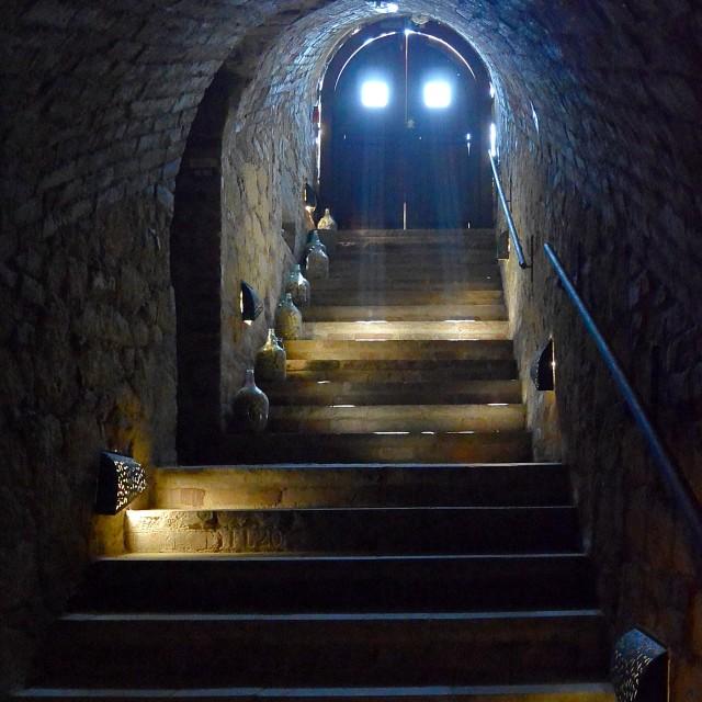 """the Wine Cellar"" stock image"