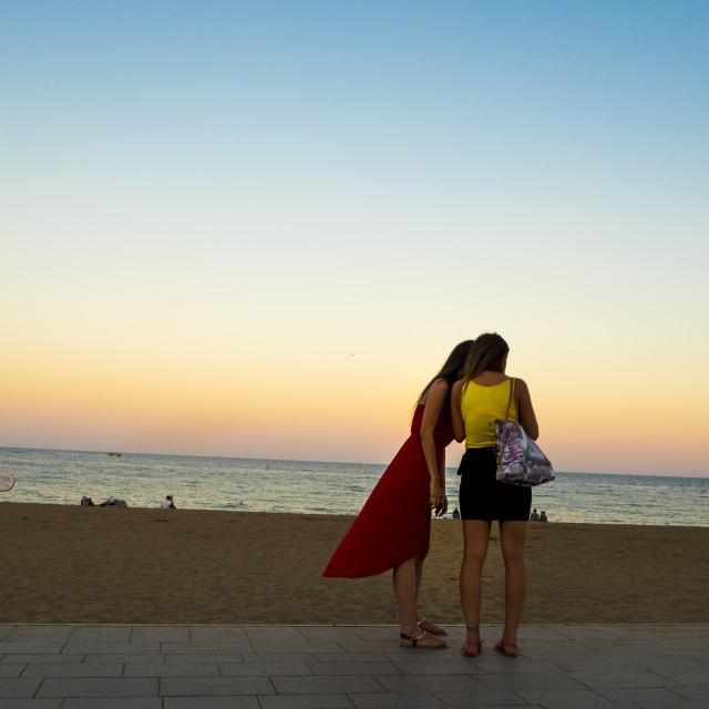 """Barceloneta, Barcelona"" stock image"