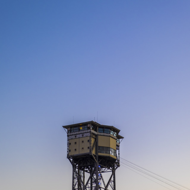"""""""cable car in Barcelona, Spain"""" stock image"""