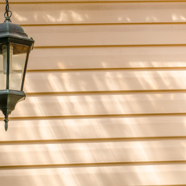 """""""Old And New Lantern Lamp"""" stock image"""