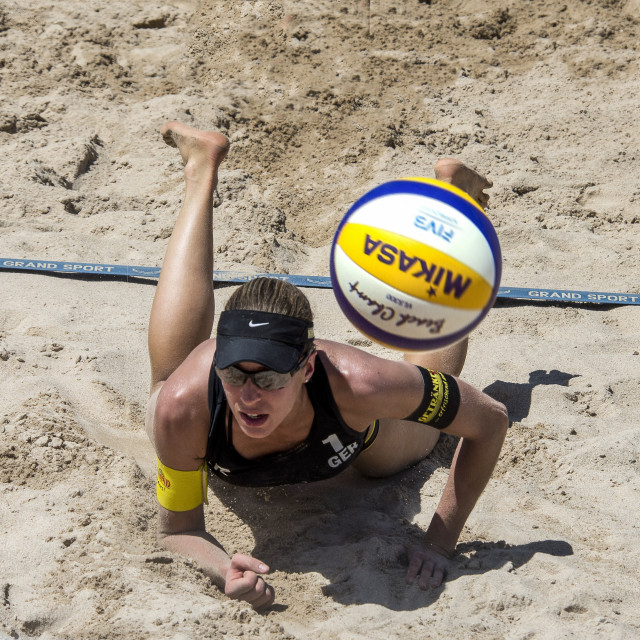"""Beach Volley Ball (V)"" stock image"