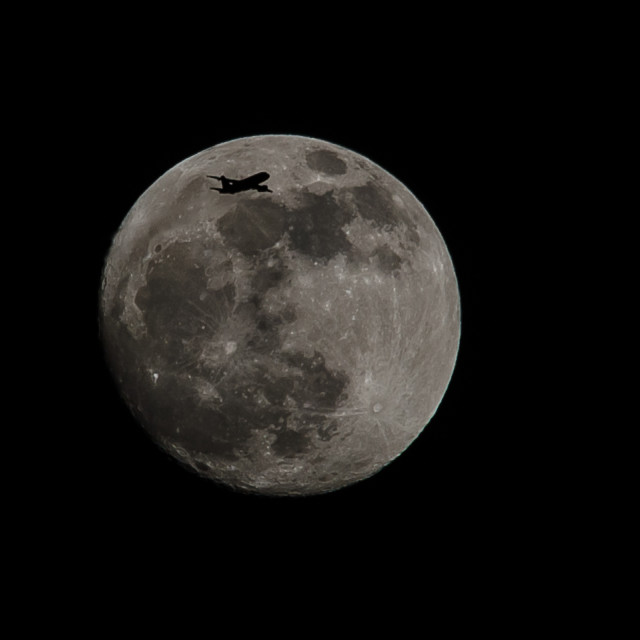 """Fly me to the moon"" stock image"