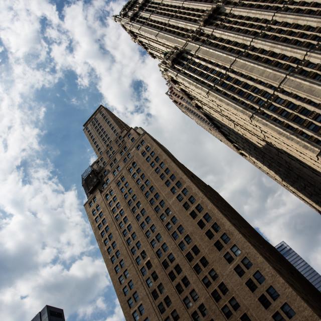 """New York Buildings"" stock image"