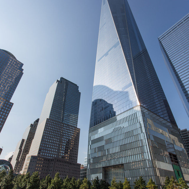 """One World Trade Center"" stock image"