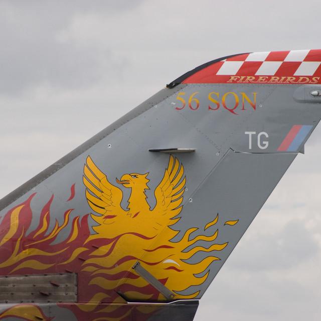 """56 Squadron Tailplane"" stock image"