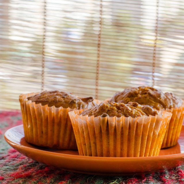"""Home Made Lemon Muffins"" stock image"